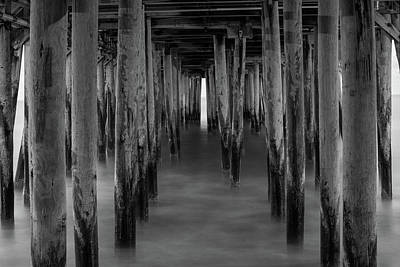 Photograph - Under The Pier by Jesse MacDonald