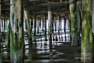 Photograph - Under The Pier 1 by Joe Lach