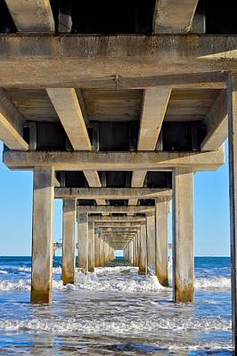 Photograph - Under The Pier by Kristina Deane