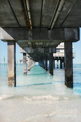 Photograph - Under The Pier by Lynn Jackson