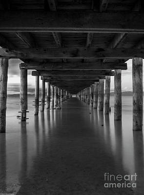 Photograph - Under The Pier by Mitch Shindelbower