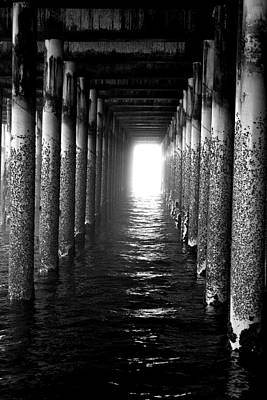 Photograph - Under The Pier by Pat Moore