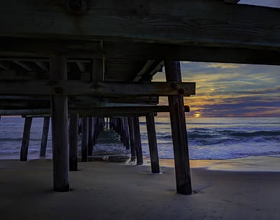 Photograph - Under The Pier by Pete Federico