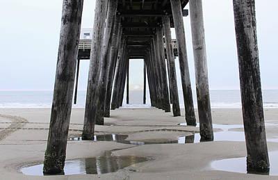 Digital Art - Under The Pier by Sharon Batdorf