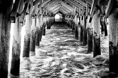 Pier - Myrtle Beach South Carolina Art Print