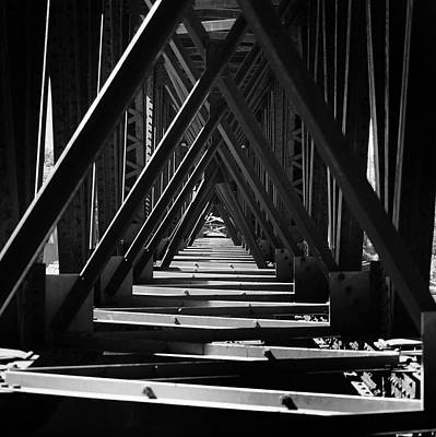 Photograph - Under The Rails by Bill Lere