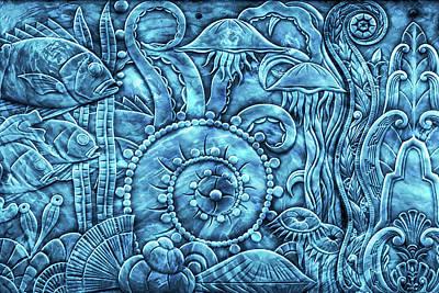 Under The Sea Mixed Media - Under The Sea by Di Designs