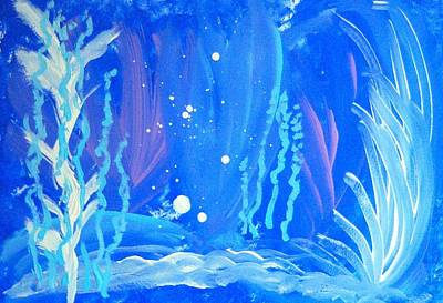Painting - Under The Sea by Helene Henderson
