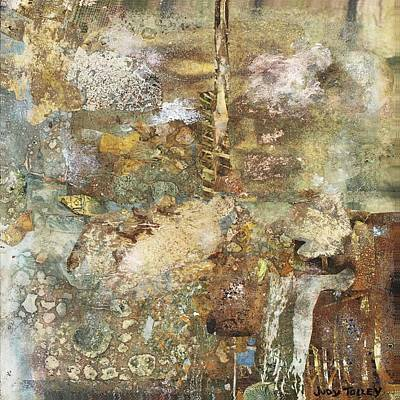 Mixed Media - Under The Sea by Judy Tolley