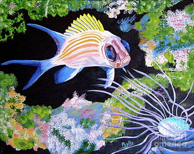 Painting - Under The Sea by Phyllis Kaltenbach