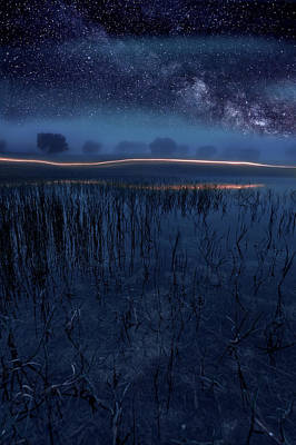 Waterscape Photograph - Under The Shadows by Jorge Maia
