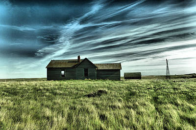 Photograph - Under The Sreaming Clouds by Jeff Swan