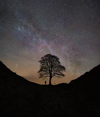 Northumberland Photograph - Under The Stars  by Mark Mc neill
