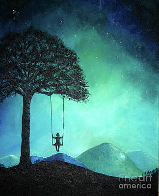 Painting - Under The Stars by Tamyra Crossley