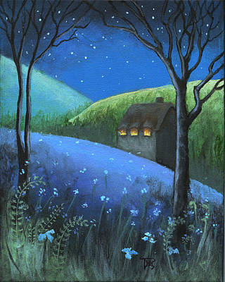 Under The Stars Art Print by Terry Webb Harshman
