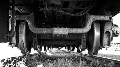 Photograph - Under The Train by Stephen Holst