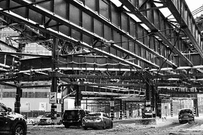 Photograph - Under The Trains by Robert Nguyen