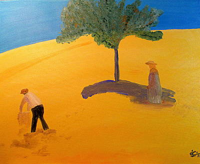 Painting - Under The Tuscan Sun by Bill OConnor