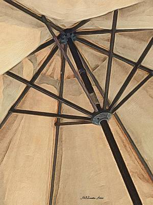Painting - Under The Umbrella by Marian Palucci-Lonzetta