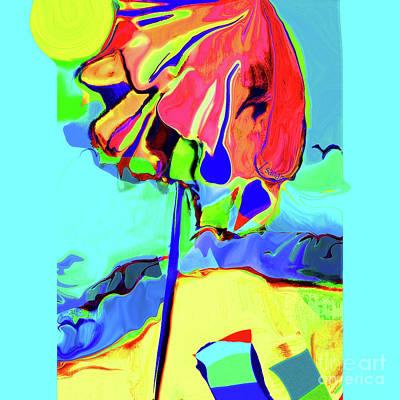 Digital Art - Under The Umbrella No. 1 by Zsanan Narrin