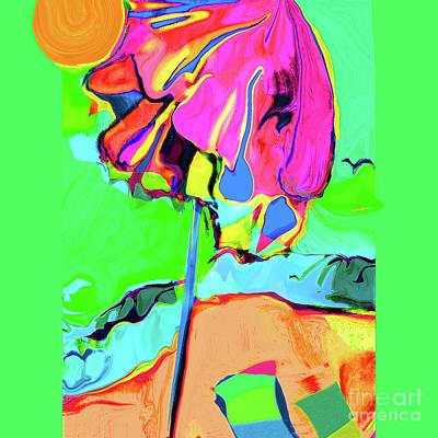 Under The Umbrella No. 3 Art Print