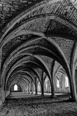 Under The Vaults. Vertical. Art Print