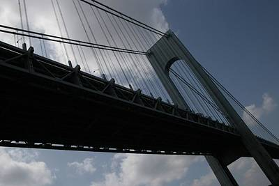 Photograph - Under The Verrazano Narrows Bridge  by Christopher Kirby