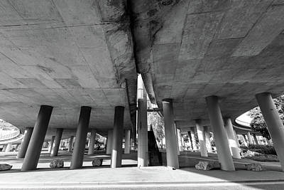 Photograph - Under The Viaduct A Urban View by Jacek Wojnarowski