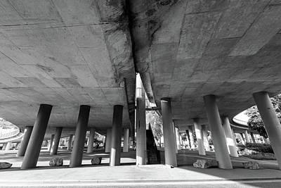Photograph - Under The Viaduct A Urban View by Jacek Wojnarowski