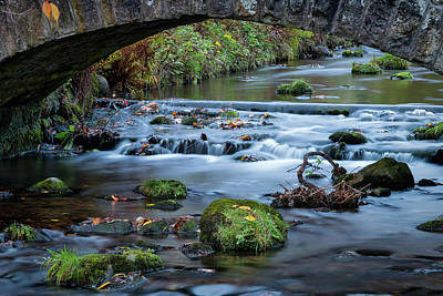 Photograph - Under The Wee Bridge by Jeremy Lavender Photography