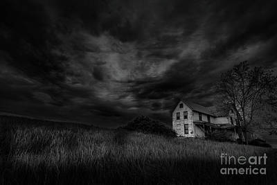 Under Threatening Skies Art Print