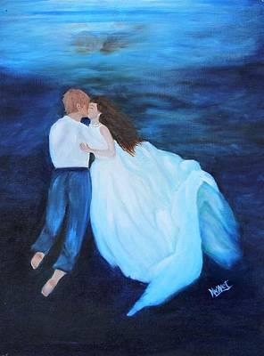 Under Water Wedding Art Print