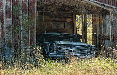 Photograph - Undercover Galaxie by Victor Montgomery