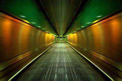 Underground Heathrow Art Print by Svetlana Sewell
