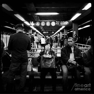 Photograph - Underground Manhattan - Subways Of New York by Miriam Danar