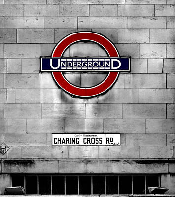 The Tube Wall Art - Photograph - Underground by Mark Rogan
