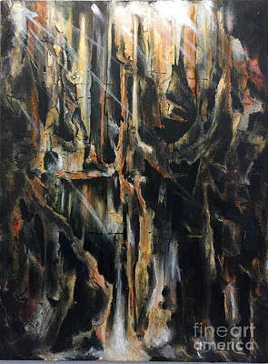 Painting - Underground Metamorphsis by Amy Williams