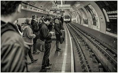 Photograph - Underground by Stewart Marsden