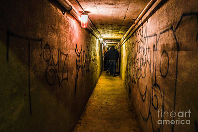Photograph - Underground Tunnel by Grace Grogan