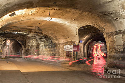 Underground Tunnels In Guanajuato, Mexico Art Print by Juli Scalzi