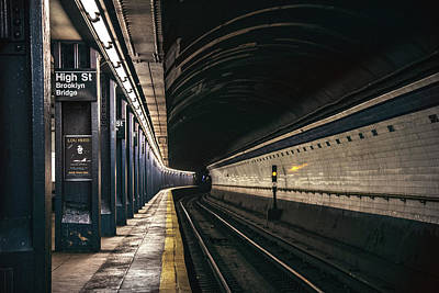 Brooklyn Bridge Mixed Media - Underground Underground, Lou Reed by Mal Bray