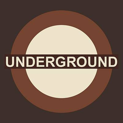Digital Art - Underground75 by Saad Hasnain