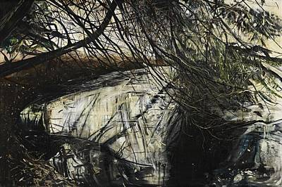 Overhang Painting - Undergrowth by Calum McClure