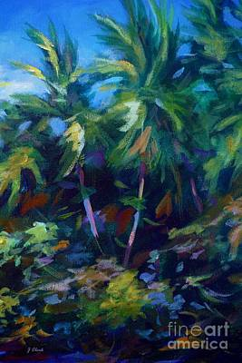 Caribbean Painting - Undergrowth by John Clark