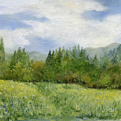 Painting - Underhill Field by Laurie Rohner