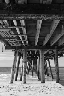 Photograph - Underneath Imperial Beach Pier by Ana V Ramirez