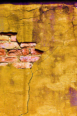Cracks Digital Art - Underneath It All by Jan Amiss Photography