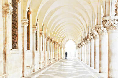 Solitude Photograph - Underneath The Arches by Marion Galt