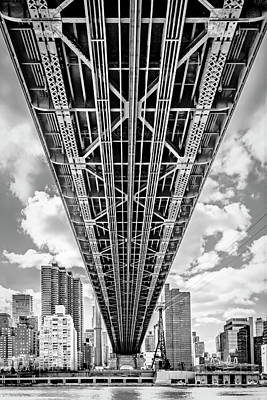 Photograph - Underneath The Queensboro Bridge by Susan Candelario