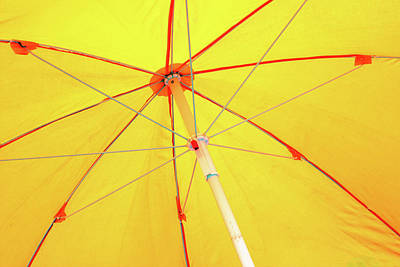 Photograph - Underneath The Yellow Umbrella by Prakash Ghai